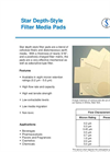SMP-1 Star Depth-Style Filter Media Pads - Brochure