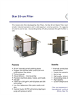 Star Filters - SSF-1 - 20-cm Wine Filter - Brochure
