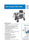 SWF-2 Star Compact Wine Filter - Brochure
