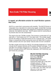Non-Code 718 Filter Housing Brochure