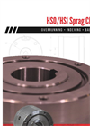 Hilliard HSO/HSI Sprag Clutches - Brochure