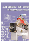 Hilliard Centralized Front Differential Clutches - Brochure