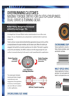Hilliard - Model MTR - Magna Torque for Clutch Couplings, Dual-Drive & Turning Gear - Brochure
