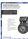 Hilliard - Intermittent Drive Assembly with Single Revolution Clutches - Brochure