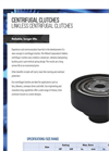 Hilliard - Linkless Centrifugal Clutch - Brochure