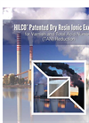 HILCO - Dry Resin Ionic Exchange Cartridges - Brochure