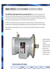 Hilliard - High-Speed Starter Overrrunning Clutch Drive - Brochure