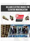 Hilliard - Brakes for Elevator Modernization - Brochure