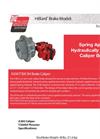 Model A300-T300 SH - Caliper Brake - Datasheet