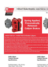 Model A400-T400 SA - Caliper Brake - Datasheet