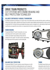 Hilliard - Model CVT - Continuously Variable Transmission System - Datasheet