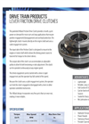 Hilliard - Lever Friction Drive Clutches - Brochure