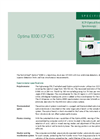 Optima 8300 ICP-OES Specifications