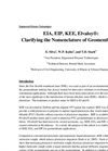 EIA, EIP, KEE, Elvaloy®: Clarifying the Nomenclature of Geomembranes