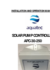 Aquatec - Model SWP - Submersible Deep Well Pumps Brochure