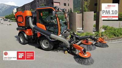 Model KS 1200 / KS 1600 - Sweeper-Suction Combination for the Holder B-, C- and S-series