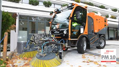 Model SX2 - Sweeper-Suction Combination for the Holder MUVO