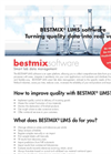 BESTMIX LIMS - Sample Management Software Brochure