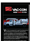 Vac-Con - Compressed Natural Gas Option Combination Sewer Cleaner Brochure