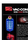 Vac-Con - Wireless Remote Control System Brochure