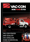 Vac-Con - Model 3.5 Yard V-230 - Combination Machine Brochure