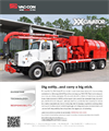 Vac-Con - Model XX-Cavator - High-Pressure Water System Brochure