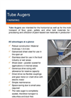 Tube Augers Brochure