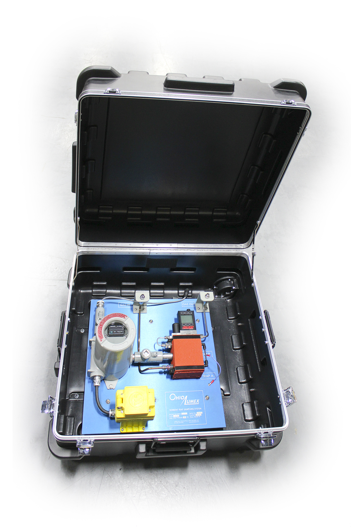Natural Gas & other Gaseous Fuels Sorbent Trap Sampling System -1