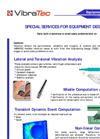 Special Services for Equipment design