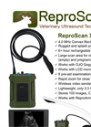 ReproScan - XTC - Light Weight Cattle Ultrasound Unit Brochure