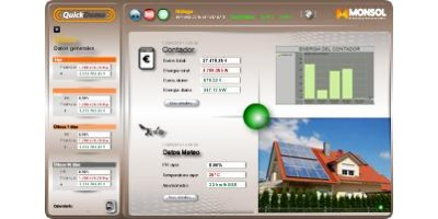 Monsol - Version QuickDomo - Monitoring System Suitable Software