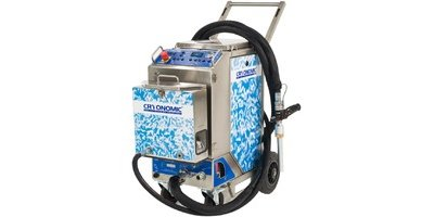 CRYONOMIC - Model COMBI - Dry Ice Grit Blasters -  Blaster with Abrasive Module