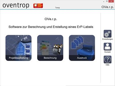 Oventrop - Version OVe.r.p. - Potable Water and Heating Systems