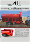 Model SR Series - Agricultural Trailers Datasheet