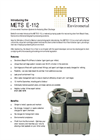 METS E-112 Cartridge Systems Brochure