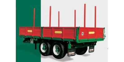 Model ZAM 110 R2 - Double Axle Trailers with Hydraulic