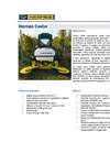 CASTOR - Mulching Machine with One Swing Disk Brochure