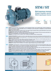 Model STM / ST - Single Impeller Electro Pumps Brochure