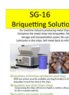 Simolin - Model SG-16 - Briquetting Machine Brochure