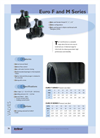 Euro - Model F and M - Valves Brochure
