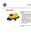 BRIO - Model 2000 - Electronic Device for Electric Pump Control Brochure