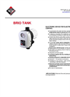 Italtecnica - Model BRIO Tank - Electronic Device for Electric Pump Control - Datasheet