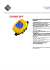 CRONO - Model SPY - Electronic Device for Electric Pump Control - Datasheet