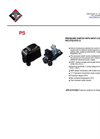 Italtecnica - Model PS/3-PS/5-PS/12 - Mechanical Pressure Switches Water - Datasheet