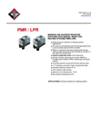 Model PMR / LPR - Pressure Switches for Heating System - Datasheet
