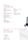 Model DMR Series - Drainage Submersible Pumps for Clear Water - Datasheet
