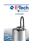 Etech - Model VL Series - Stainless Steel Close-Coupled Multistage Pump - Brochure