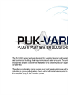 PUK-Variboost - Model 3-120 - Cold Water Booster System Datasheet