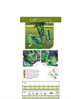 Model Cat 290, 340 , 385 - Hydraulic Flail Hedger Mower Brochure