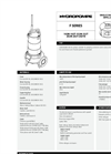 Model 102M - Submersible Electric Pump Brochure